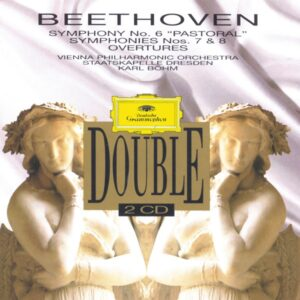 Beethoven: Symphonies 6 - 8, Overtures —Böhm / VPO; CD cover