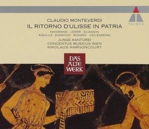 Monteverdi: Il Ritorno d'Ulisse in Patria — Harnoncourt, Concentus musicus; CD cover