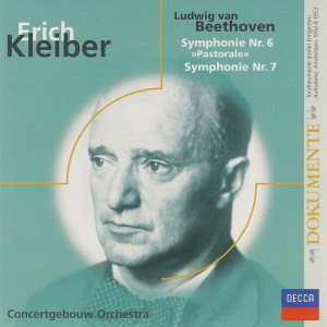 Beethoven: Symphonies 6 & 7 —Kleiber / Concertgebouw; CD cover