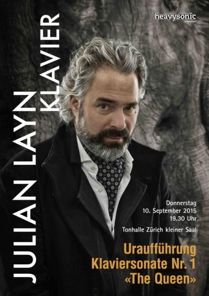 Julian Layn —Concert Flyer 2015-09-10