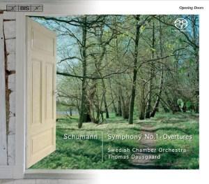 Schumann: Symphony No.1, Overtures — Dausgaard; CD cover