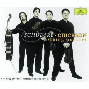 Schubert: String Quartets —Emerson Quartet; CD cover