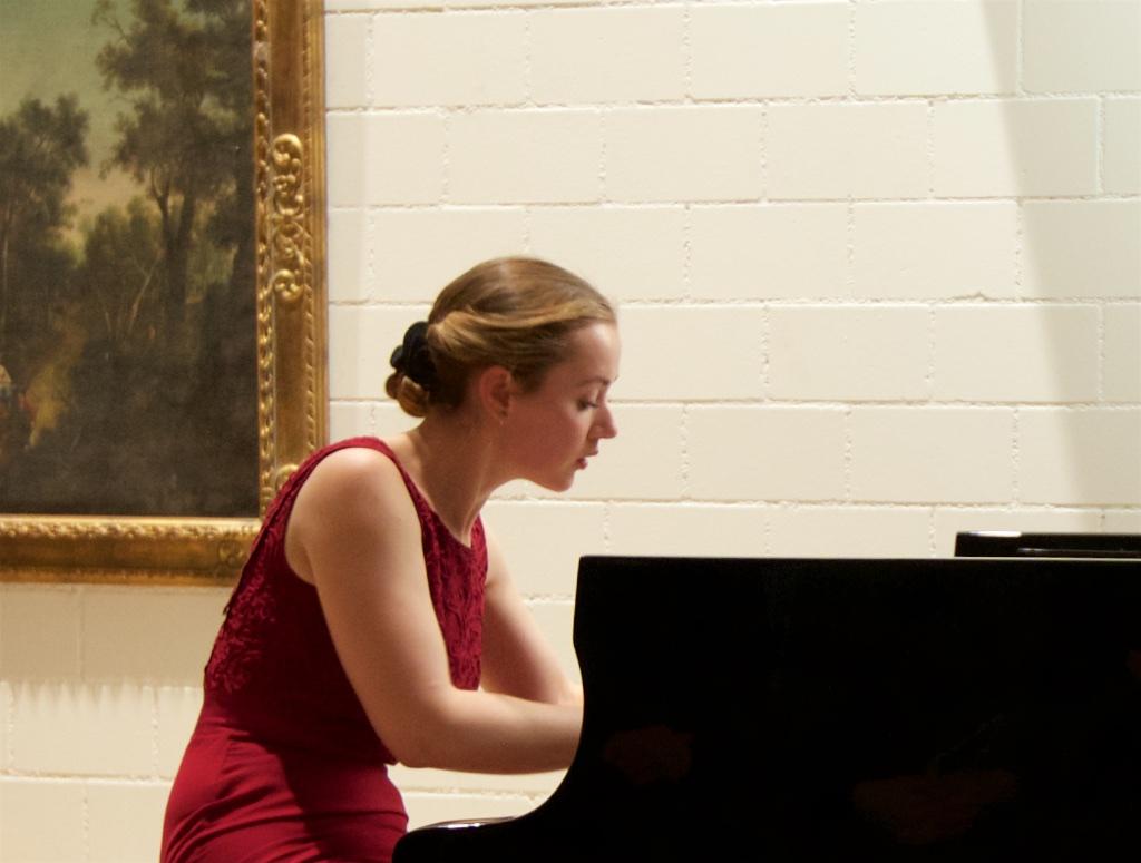 Oxana Shevchenko, private concert, Zurich area, 2016-01-16