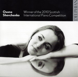 Oxana Shevchenko — Debut CD 2010; CD cover
