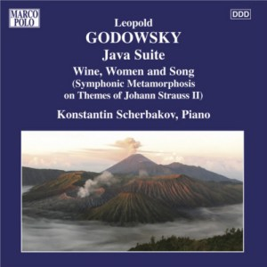 Godowsky, piano works, vol.8 (Java Suite) — Konstantin Scherbakov; CD cover