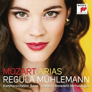 Mozart Arias — Regula Mühlemann; CD cover