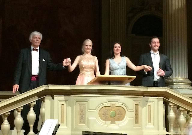 Concert @ ETH, 2016-12-06: Josef Wallnig, Manuela Dumfart, Olga Privalova, Thomas Hansen (© Rolf Kyburz)