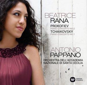Tchaikovsky 1 & Prokofiev 2 —Rana, Pappano (CD cover)