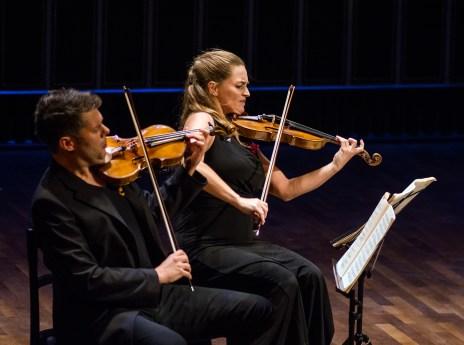 Festival Academy Budapest — Kelemen Quartet: Barnabás Kelemen, Katalin Kokas (© Andrea Felvegi)