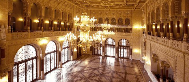 Budapest, Széchenyi Spa, Hall