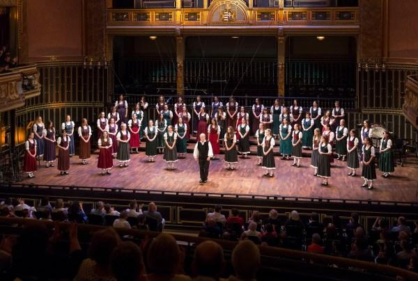 Festival Academy Budapest: Pro Musica Choir, Dénes Szabó (© Posztós János)