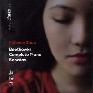 Beethoven: The Piano Sonatas - Mélodie Zhao; CD cover