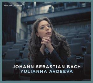 Bach: Keyboard works BWV 807, 831, 912—Avdeeva: CD cover
