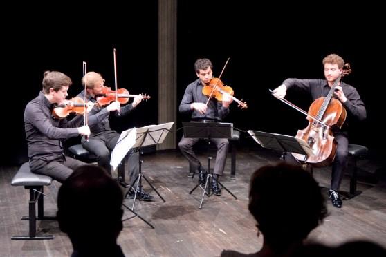 Quatuor Van Kuijk, Lugano, 2018-04-22 (© Rolf Kyburz)