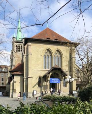 Église Saint-François, Lausanne (© Rolf Kyburz)