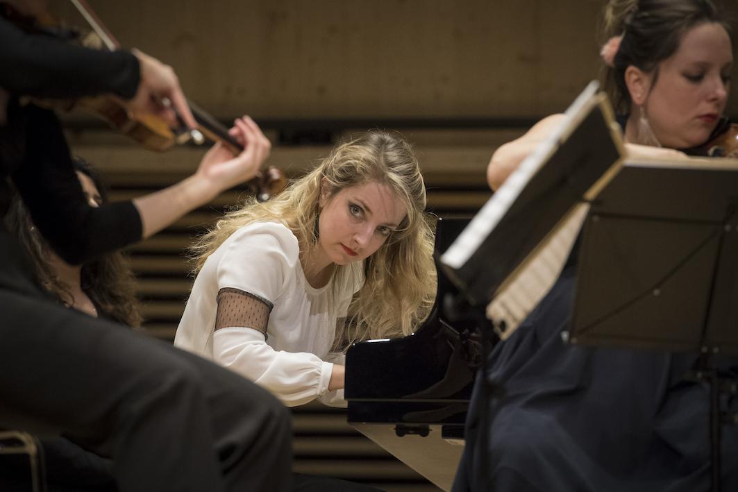 Orpheum Concert: Lise de la Salle, Quatuor Zaïde (© Thomas Entzeroth)