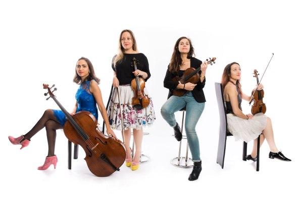 Quatuor Zaïde (© Jeremy Sangare)