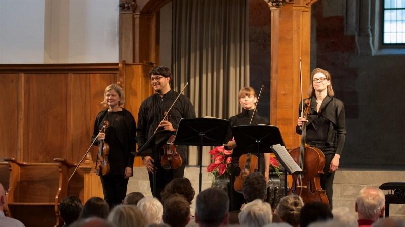 Chiaroscuro Quartet @ Zurich, St.Peter, 2018-05-27 (© Rolf Kyburz)