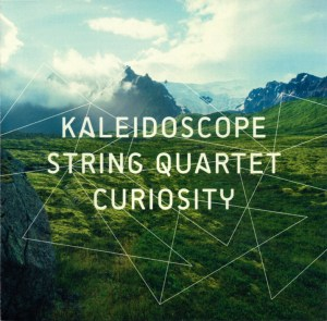 "Kaleidoscope String Quartet: ""Curiosity"", CD cover"
