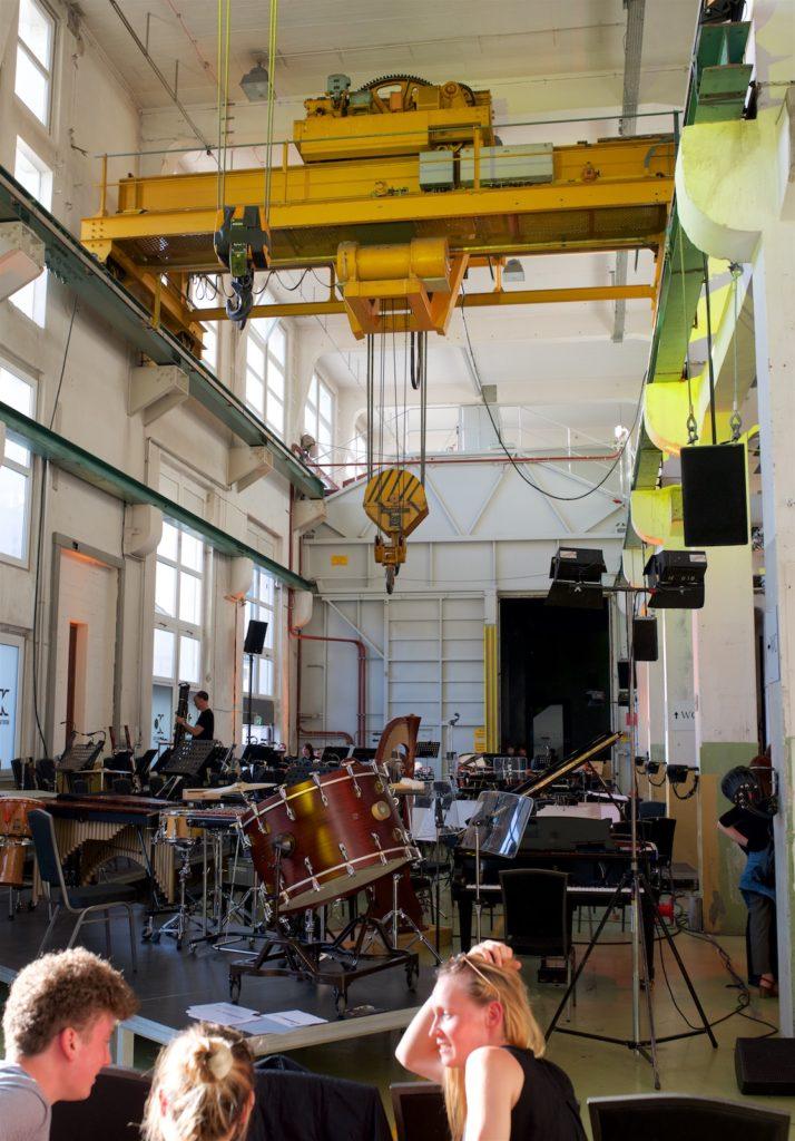 Basel Sinfonietta @ Altes Kraftwerk, Basel, 2018-06-10 (© Rolf Kyburz)