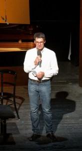 Festival Academy Budapest, 2018-07-25: András Bánó, presenter