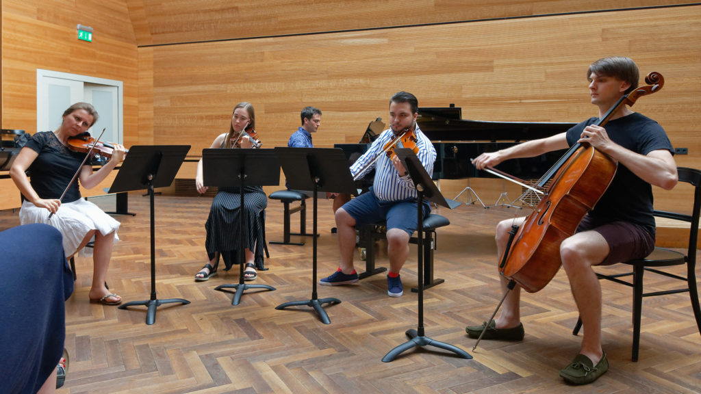 Festival Academy Budapest, 2018-07-26: Natalia Lomeiko, Open Master Class