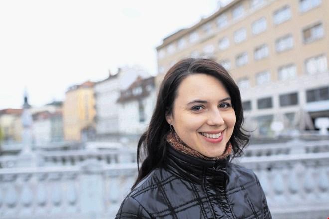 Mojca Bitenc (www.dnevnik.si; © Jaka Gasar)