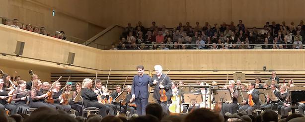 Pinchas Zukerman, Lahav Shani, Rotterdam Philharmonic Orchestra (© Rolf Kyburz)