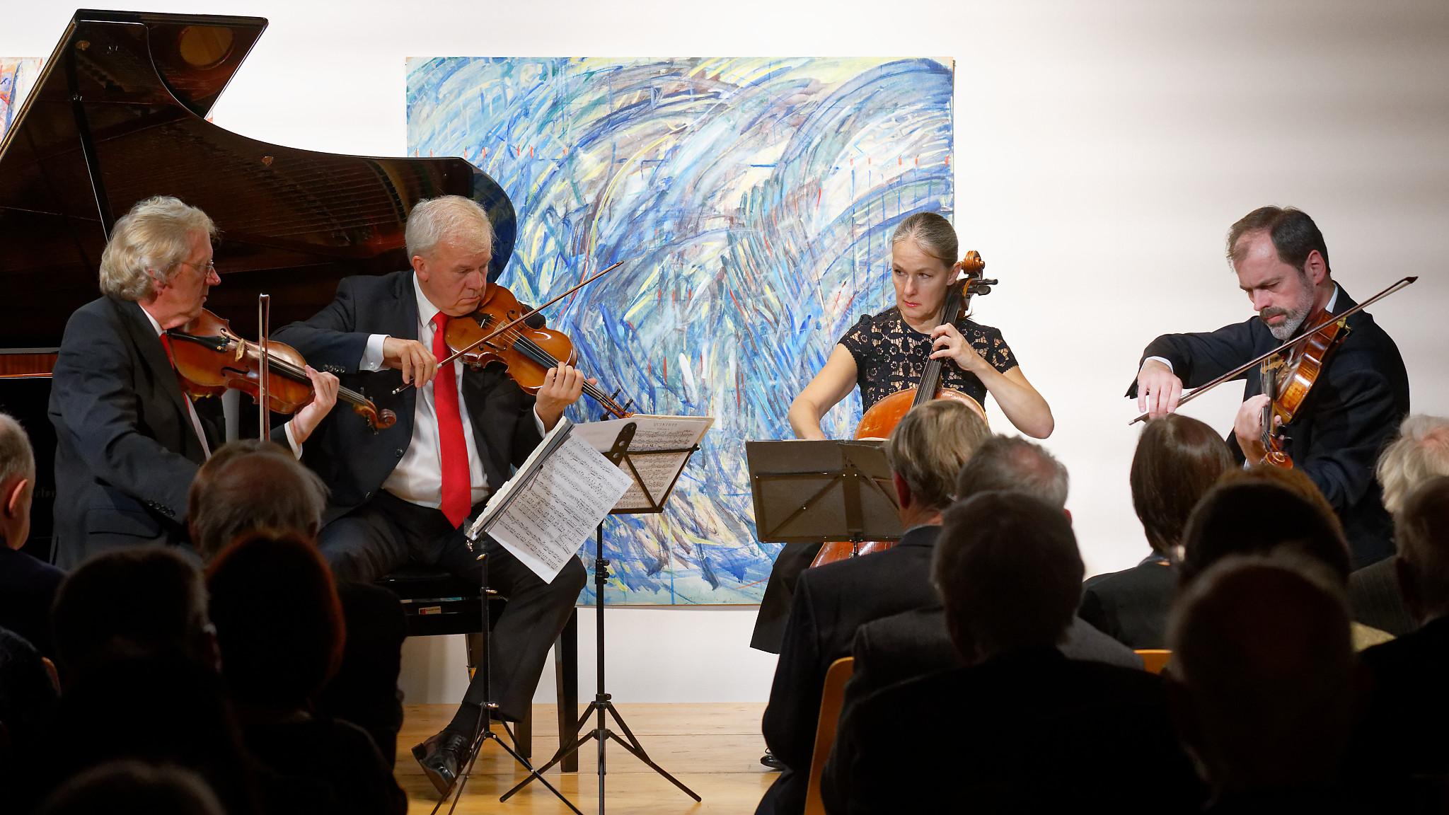 Martinů Quartet @ Brugg, Zimmermannhaus, 2019-01-26 (© Rolf Kyburz)