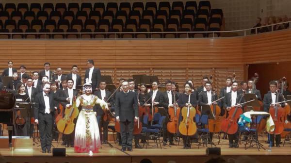 Wenqing Lian, Ralph van Raat, Tan Dun / Guangzhou Symphony Orchestra @ KKL, Lucerne, 2019-01-27 (© Rolf Kyburz)
