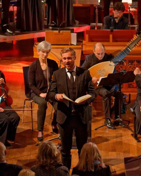Ludwig Mittelhammer, Orchestra la Scintilla @ St.Jakob, Zurich, 2019-04-17 (© Rolf Kyburz)