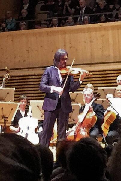 Leonidas Kavakos, Tonhalle Maag, Zurich, 2019-04-09 (© Lea Kyburz)