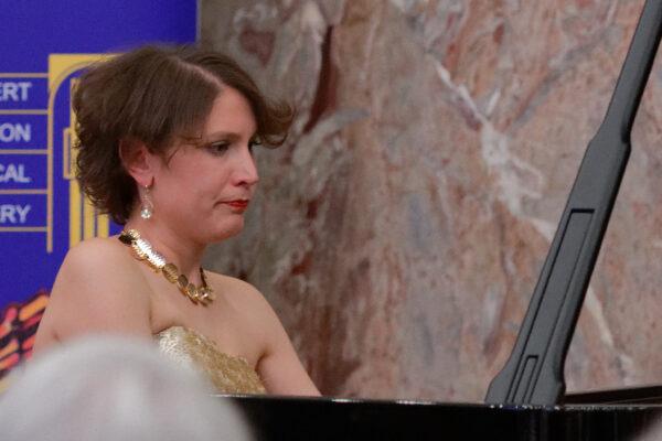 Meta Fajdiga, Charity Concert, Aula, Zurich University (© Rolf Kyburz)