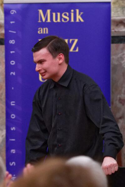 Aleksandr Kliuchko, Charity Concert, Aula, Zurich University (© Rolf Kyburz)
