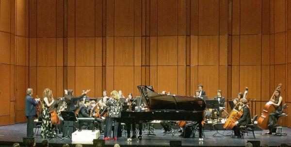 Vernikov, Piccotti, Voltchok, Čepaitė / YES Orchestra @ Musical Theater, Basel, 2019-05-20 (© Rolf Kyburz)