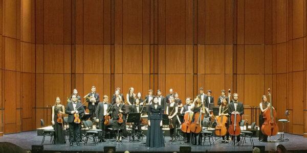 Adrija Čepaitė / YES Orchestra @ Musical Theater, Basel, 2019-05-20 (© Rolf Kyburz)