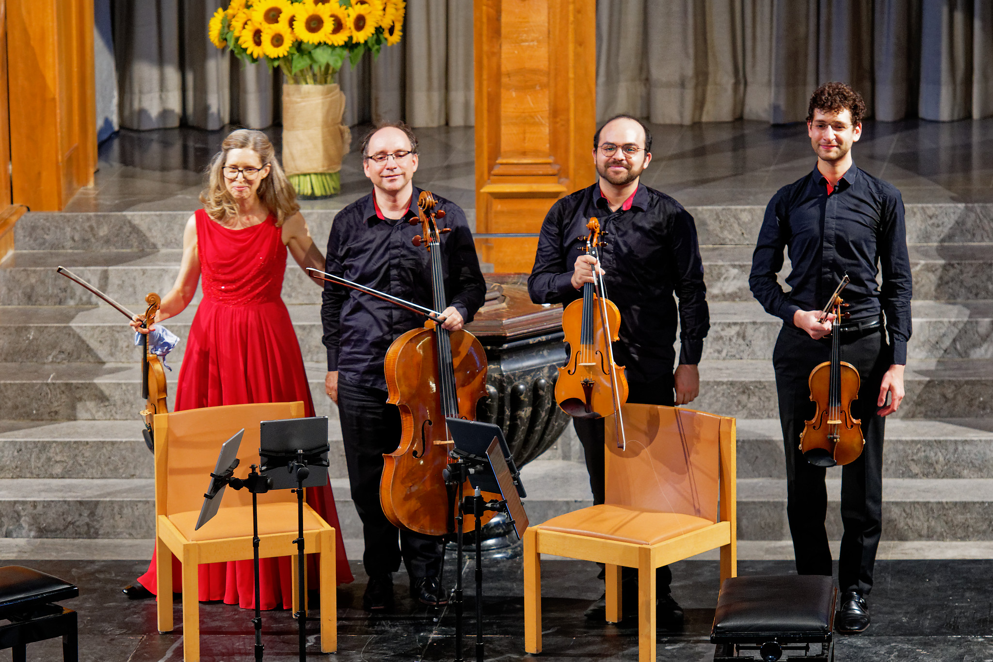 Merel Quartet, Kirche St.Peter, Zurich, 2019-09-22 (© Rolf Kyburz, all rights reserved)