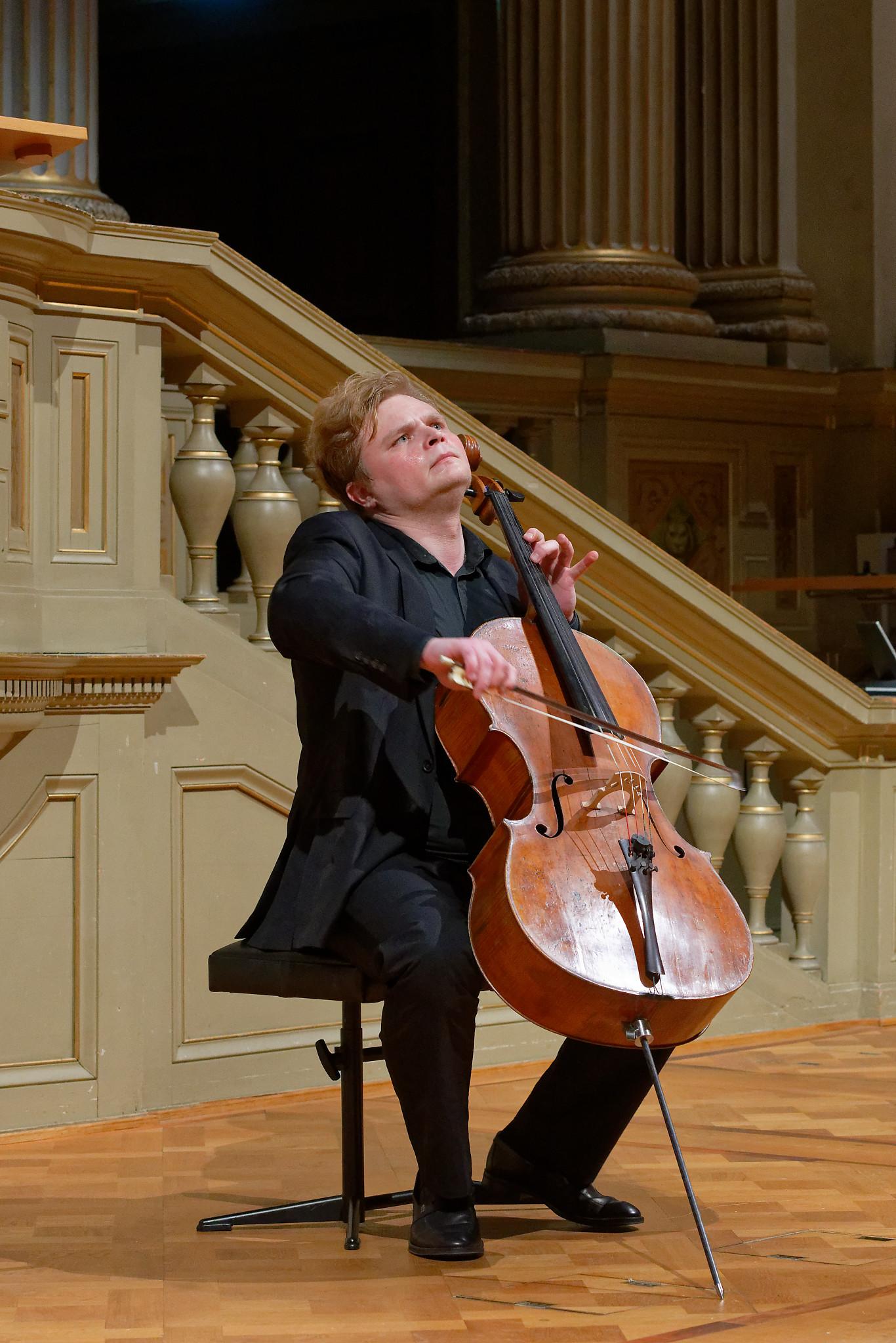 Lev Sivkov @ Semper-Aula, ETH Zurich, 2020-01-21 (© Rolf Kyburz)