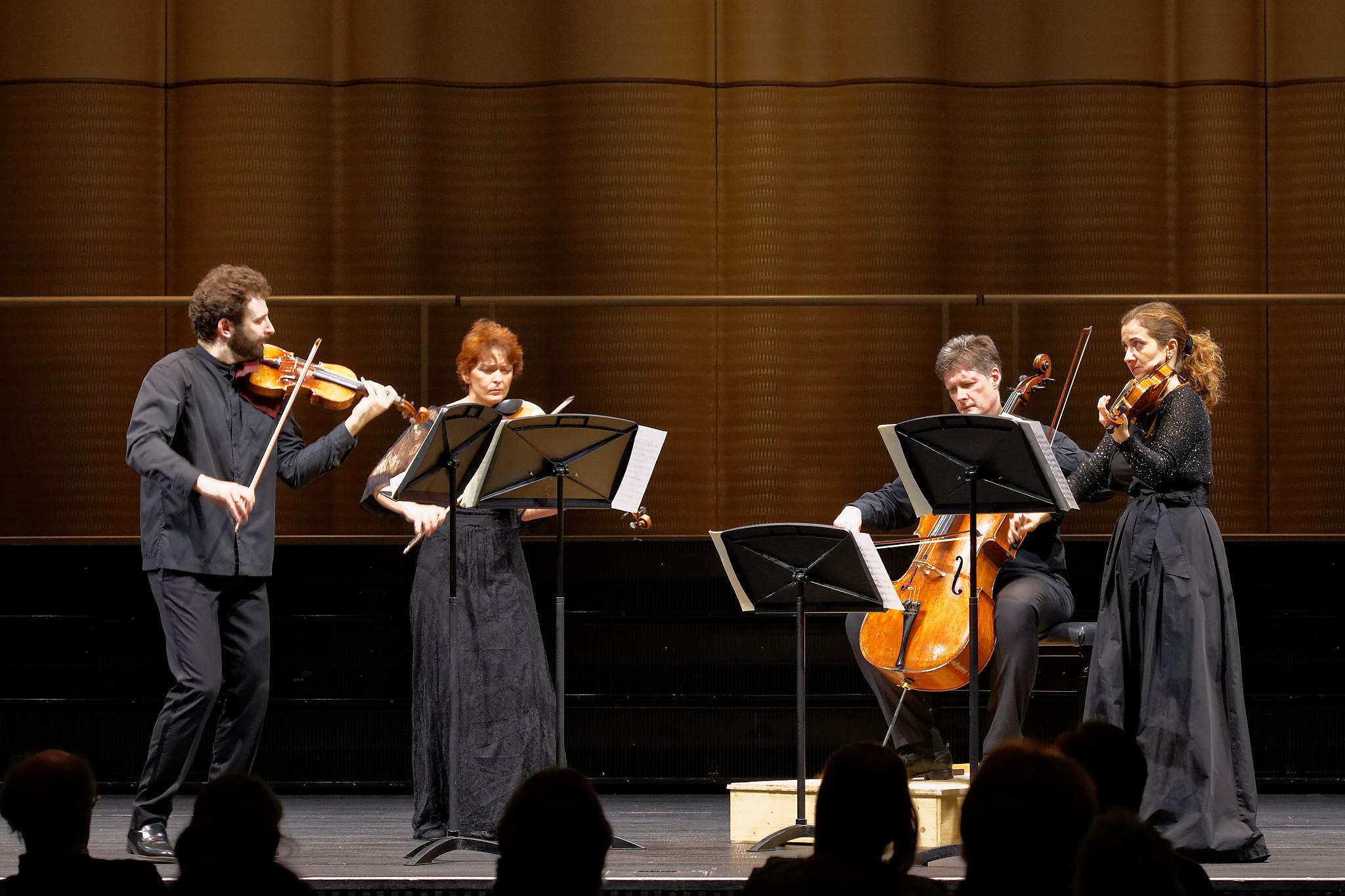 Gringolts Quartet @ ZHdK, Zurich, 2020-02-24 (© Rolf Kyburz)