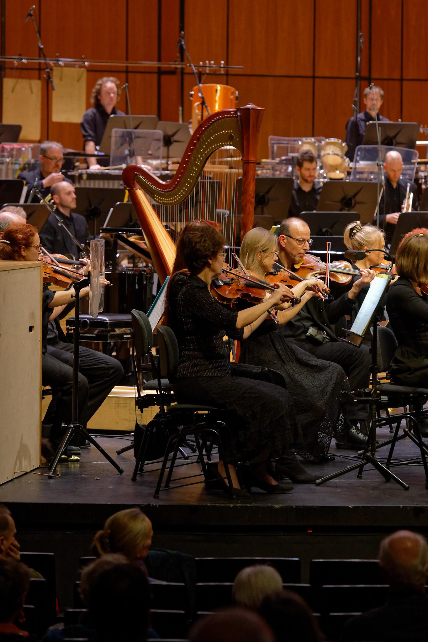 Basel Sinfonietta @ Musical Theater Basel, 2020-02-02 (© Rolf Kyburz)