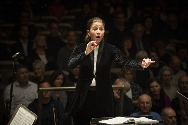 Orpheum Concert 2020-03-04 @ Tonhalle Maag: Kristiina Poska (© Thomas Entzeroth)