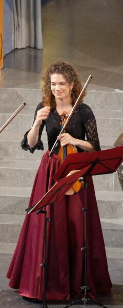 Anne Battegay (Belenus Quartet) @ St.Peter, Zurich, 2021-09-05 (© Rolf Kyburz)