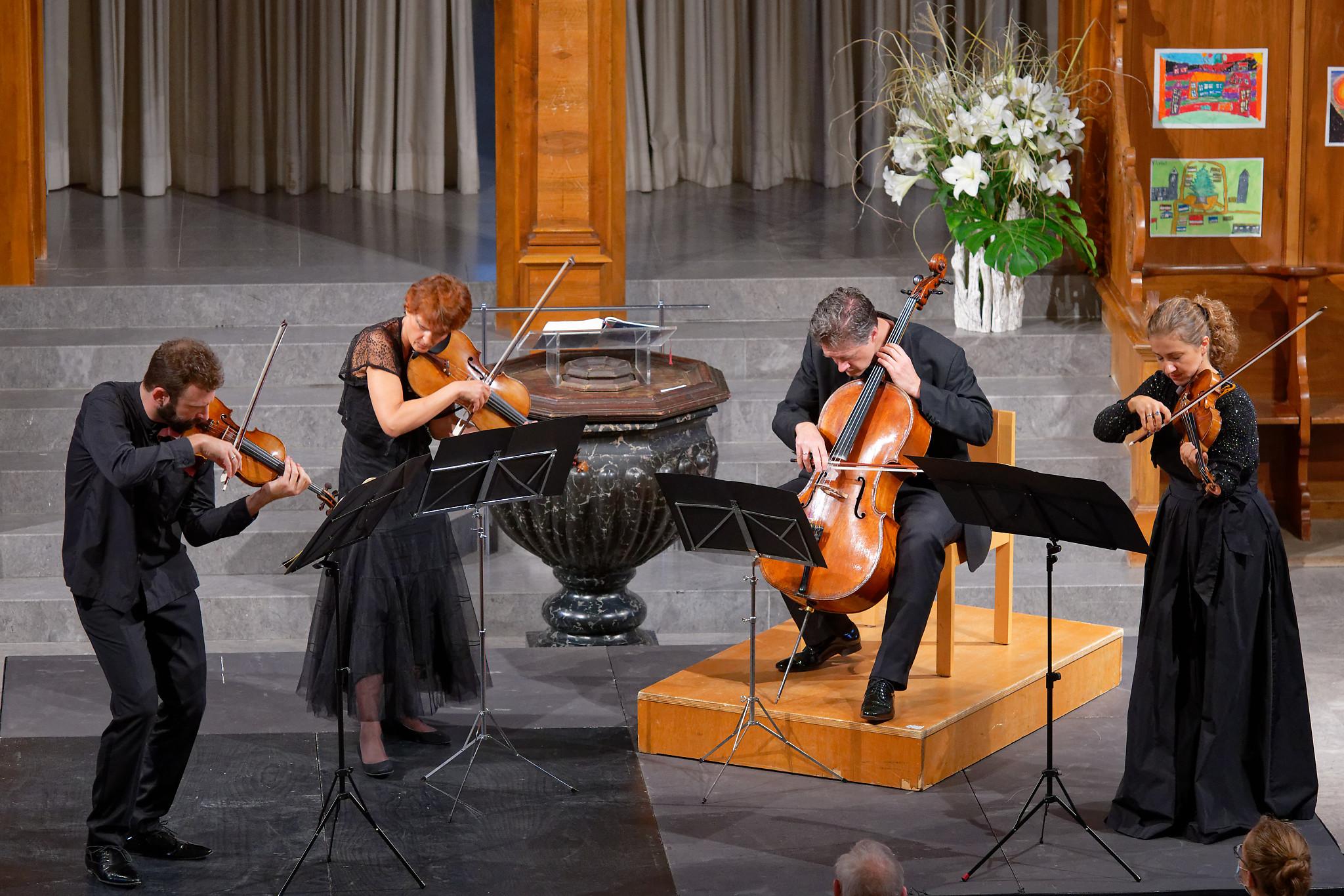Gringolts Quartet @ St.Peter, Zurich, 2020-08-30 (© Rolf Kyburz)