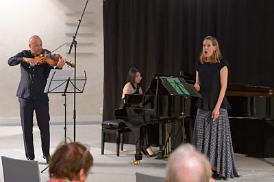 Jürg Dähler, Claire Huangci, Sophie Klussmann @ Wasserkirche Zürich, 2020-09-25 (© Rolf Kyburz)