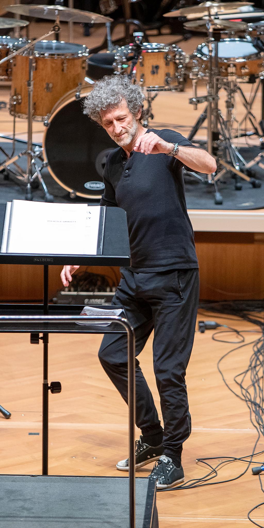 Jojo Mayer @ Stadtcasino Basel, 2021-06-27 (© Zlatko Mićić)