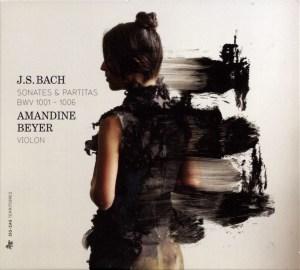 J.S. Bach, Sonatas & Partitas —Amandine Beyer (CD cover)