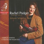 J.S. Bach, Sonatas & Partitas —Rachel Podger (CD cover)