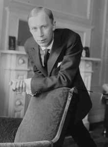 Sergei Prokofiev (Wikimedia Commons)