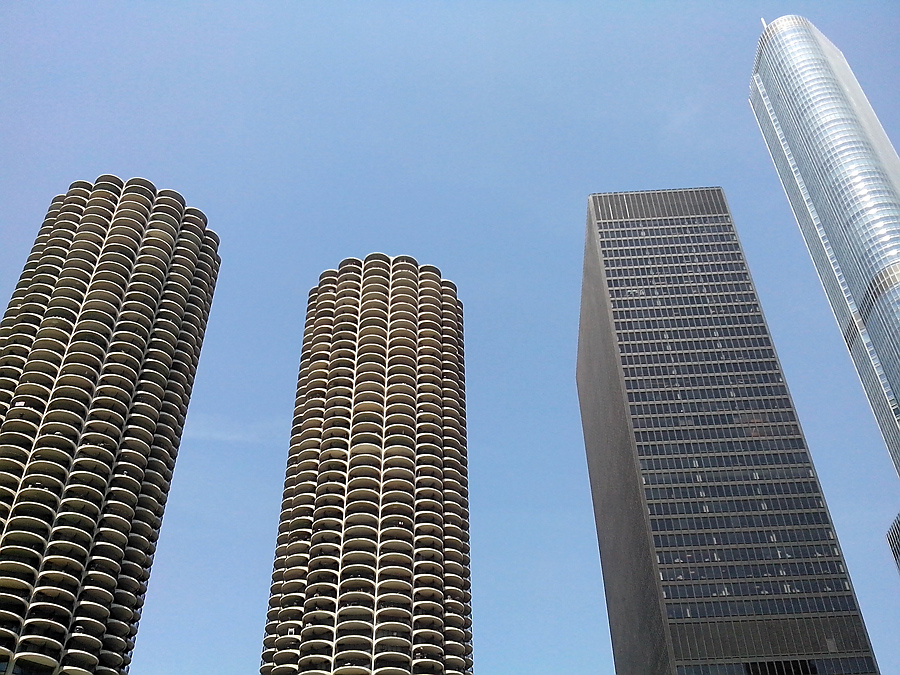 Marina City's Twin Towers