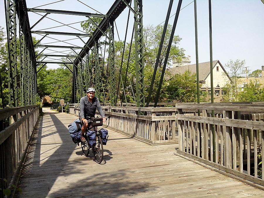Interurban Bridge in Cedarburg